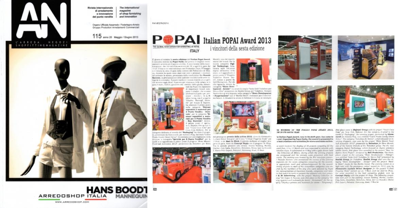 AN L'arreda Negozi Magazine Alessandro Luciani