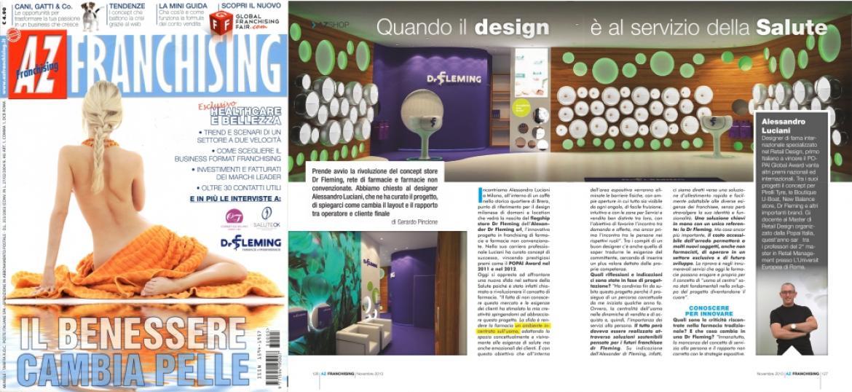 AZ Franchising Magazine Alessandro Luciani