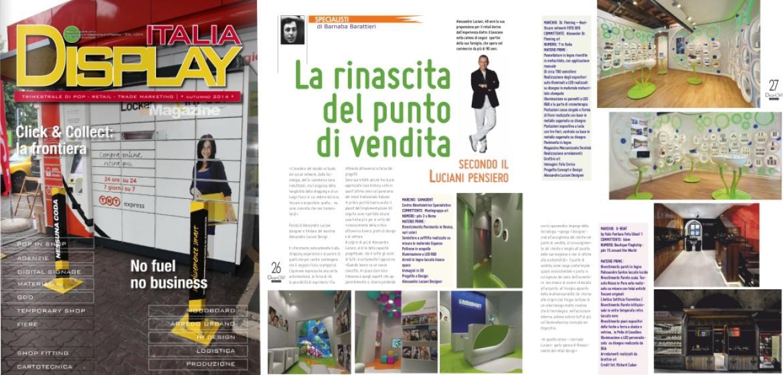 Display Italia Magazine Alessandro Luciani