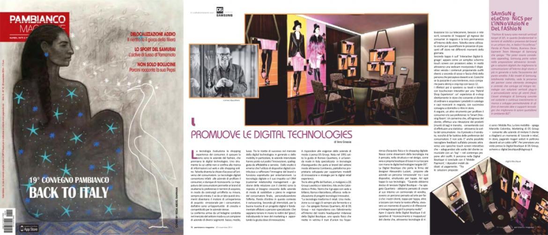 Pambianco Magazine Alessandro Luciani