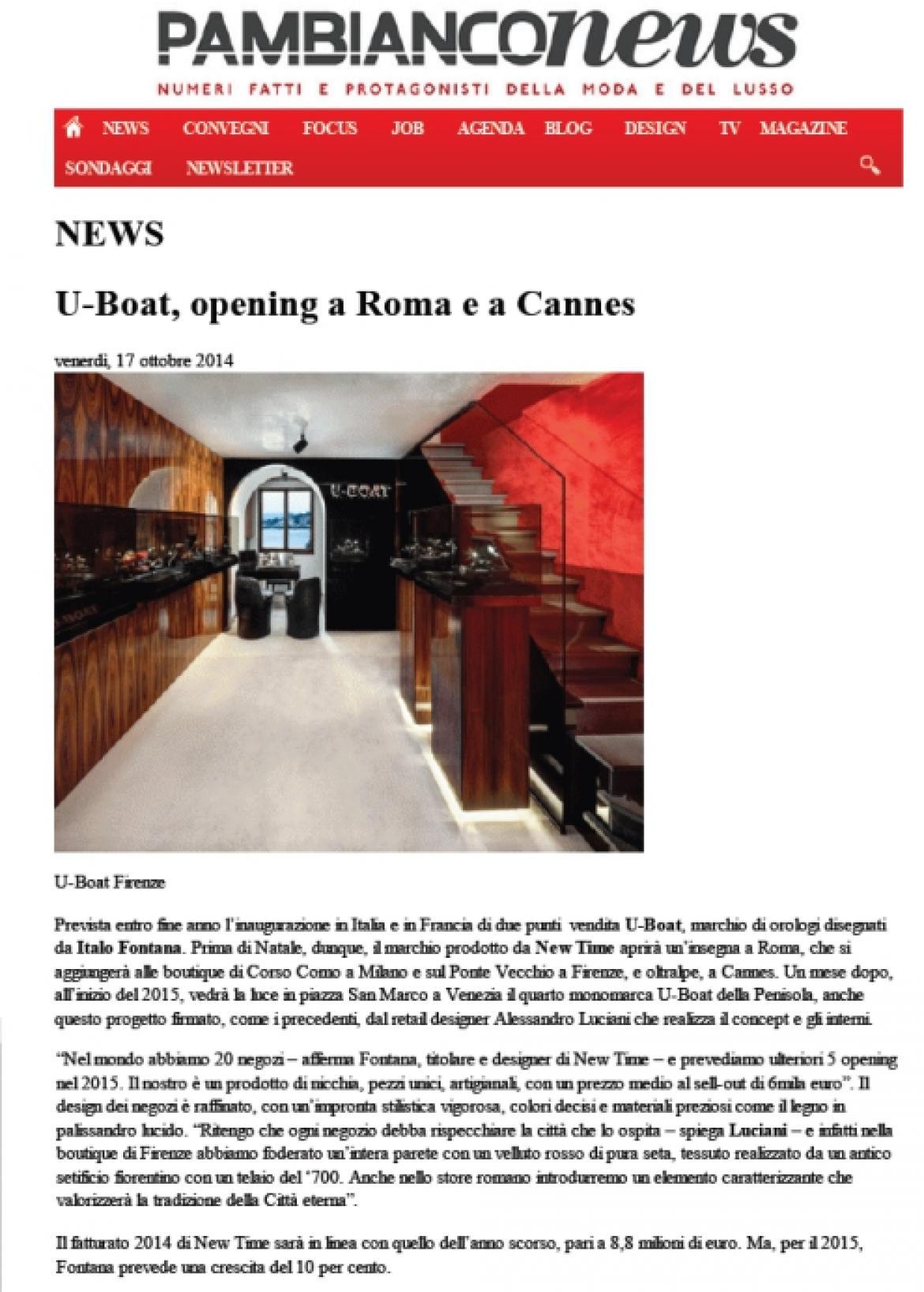Pambianco News Alessandro Luciani
