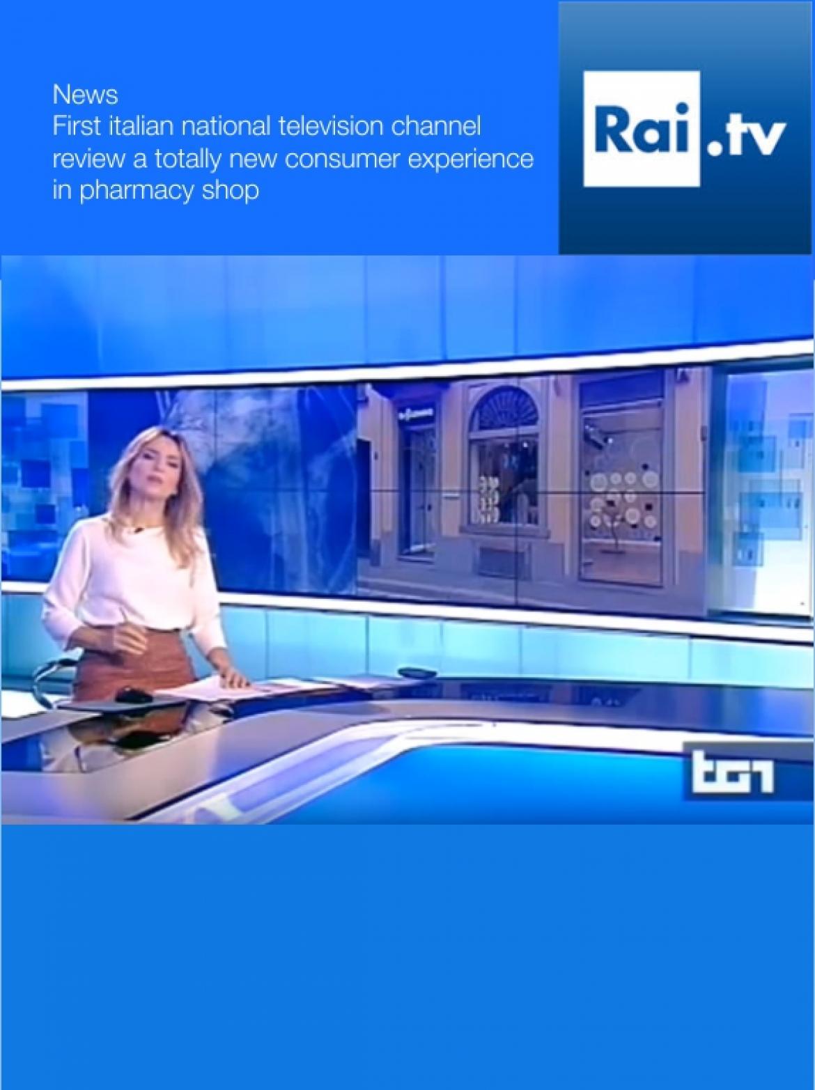 RAI TV Alessandro Luciani